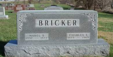 BRICKER, CHARLEY LEROY - Madison County, Iowa | CHARLEY LEROY BRICKER