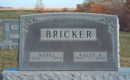 BRICKER, MABEL CLARE - Madison County, Iowa | MABEL CLARE BRICKER