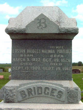 BRIDGES, MALINDA - Madison County, Iowa | MALINDA BRIDGES