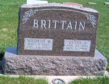 BRITTAIN, MILDRED MAY - Madison County, Iowa | MILDRED MAY BRITTAIN