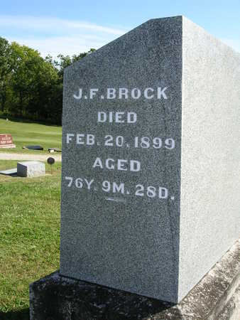 BROCK, JONAS FIGLEY - Madison County, Iowa | JONAS FIGLEY BROCK