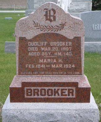 BROOKER, GUDLIFF - Madison County, Iowa | GUDLIFF BROOKER