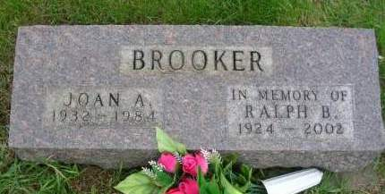 BROOKER, JOAN AUGUSTA - Madison County, Iowa | JOAN AUGUSTA BROOKER