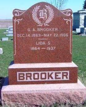 BROOKER, GEORGE ADELBERT - Madison County, Iowa   GEORGE ADELBERT BROOKER