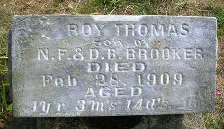 BROOKER, ROY THOMAS - Madison County, Iowa | ROY THOMAS BROOKER