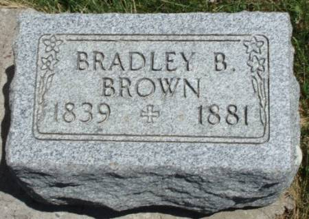 BROWN, BRADLEY B. - Madison County, Iowa | BRADLEY B. BROWN
