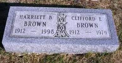 BROWN, HARRIETT BERNICE - Madison County, Iowa | HARRIETT BERNICE BROWN