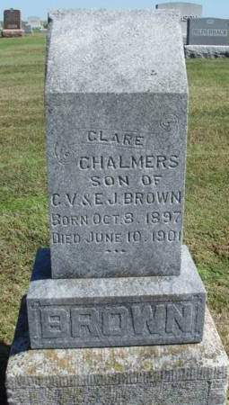 BROWN, CLARE CHALMERS - Madison County, Iowa | CLARE CHALMERS BROWN