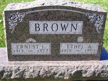 BROWN, ERNEST LYLE - Madison County, Iowa | ERNEST LYLE BROWN