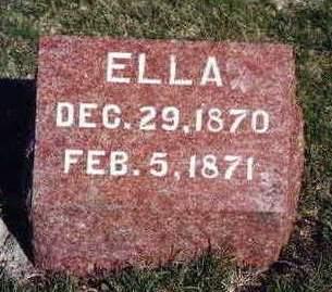 BROWN, ELLA - Madison County, Iowa | ELLA BROWN