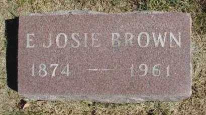BROWN, ELLA JOSIE - Madison County, Iowa | ELLA JOSIE BROWN