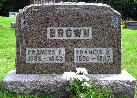 BROWN, FRANCIS MARION - Madison County, Iowa | FRANCIS MARION BROWN