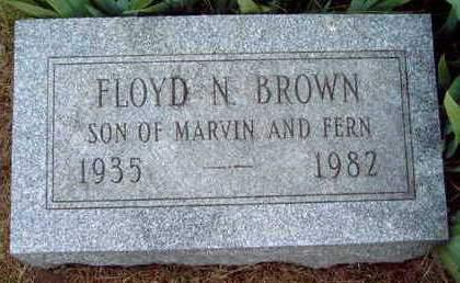 BROWN, FLOYD NEAL - Madison County, Iowa | FLOYD NEAL BROWN