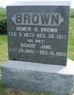 BROWN, BRADIE JANE - Madison County, Iowa | BRADIE JANE BROWN