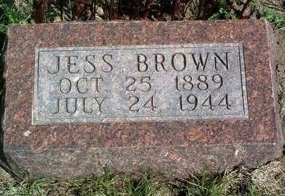 BROWN, JESS - Madison County, Iowa | JESS BROWN