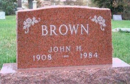 BROWN, JOHN H. - Madison County, Iowa | JOHN H. BROWN