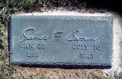 BROWN, JAMES FRANCIS - Madison County, Iowa | JAMES FRANCIS BROWN