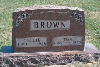 BROWN, NELLIE - Madison County, Iowa | NELLIE BROWN