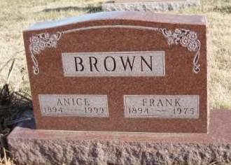 BROWN, ANICE PEARL - Madison County, Iowa   ANICE PEARL BROWN
