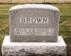 BROWN, NELLIE D. - Madison County, Iowa | NELLIE D. BROWN