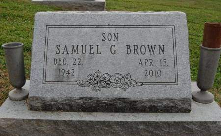 BROWN, SAMUEL GLEN - Madison County, Iowa | SAMUEL GLEN BROWN