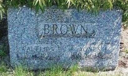 BROWN, AGNES JANE - Madison County, Iowa | AGNES JANE BROWN