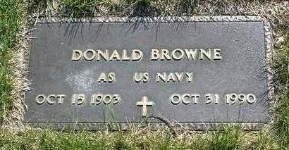 BROWNE, DONALD - Madison County, Iowa   DONALD BROWNE