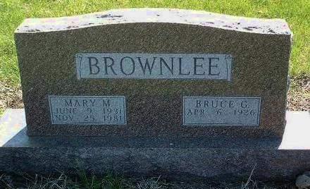 BROWNLEE, BRUCE G. - Madison County, Iowa | BRUCE G. BROWNLEE