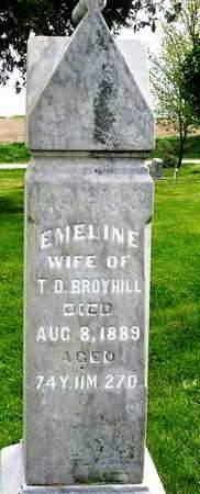 BROYHILL, EMELINE - Madison County, Iowa | EMELINE BROYHILL