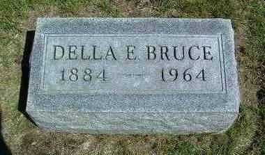 BRUCE, DELLA EDITH - Madison County, Iowa | DELLA EDITH BRUCE