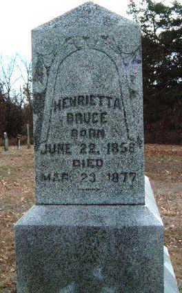 BRUCE, HENRIETTA  (ETTA) - Madison County, Iowa | HENRIETTA  (ETTA) BRUCE