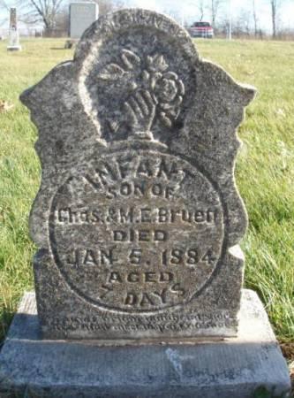 BRUETT, INFANT - Madison County, Iowa | INFANT BRUETT