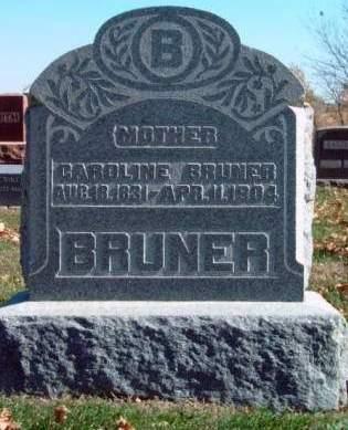 BRUNER, CAROLINE - Madison County, Iowa | CAROLINE BRUNER