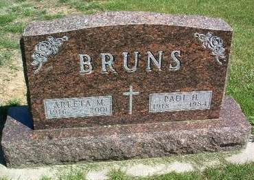 BRUNS, PAUL HENRY - Madison County, Iowa | PAUL HENRY BRUNS