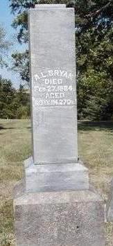 BRYAN, ANSELM LYNCH - Madison County, Iowa | ANSELM LYNCH BRYAN