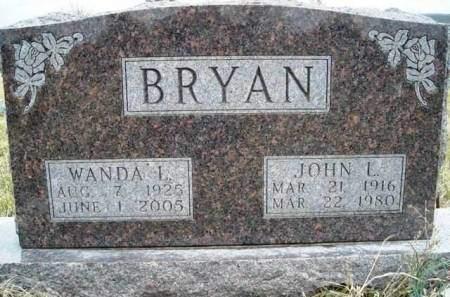 BRYAN, JOHN LEWIS - Madison County, Iowa   JOHN LEWIS BRYAN