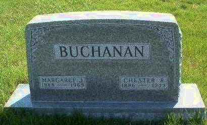 PICKEN BUCHANAN, MARGARET J. - Madison County, Iowa | MARGARET J. PICKEN BUCHANAN