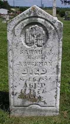 RUCKMAN, SARAH J. - Madison County, Iowa | SARAH J. RUCKMAN