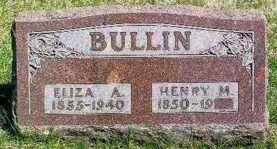 BULLIN, ELIZA ANNA - Madison County, Iowa | ELIZA ANNA BULLIN