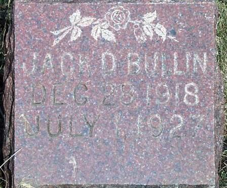 BULLIN, JACK D. - Madison County, Iowa | JACK D. BULLIN