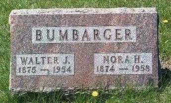 BUMBARGER, WALTER JACOB - Madison County, Iowa | WALTER JACOB BUMBARGER