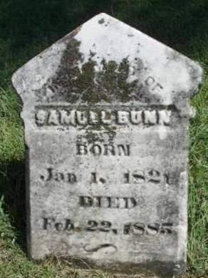 BUNN, SAMUEL - Madison County, Iowa | SAMUEL BUNN