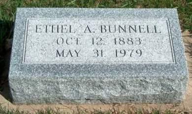 BUNNELL, ETHEL ADELAIDE - Madison County, Iowa | ETHEL ADELAIDE BUNNELL