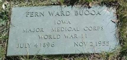 BUOOA, FERNAS WARD (FERN / F.W.) - Madison County, Iowa | FERNAS WARD (FERN / F.W.) BUOOA
