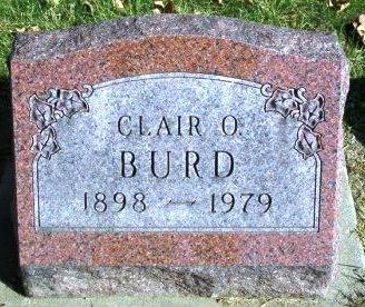 BURD, CLAIR ODELL - Madison County, Iowa | CLAIR ODELL BURD