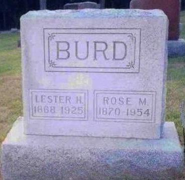 BURD, LESTER H. - Madison County, Iowa | LESTER H. BURD