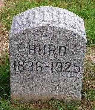 BURD, MARY E. - Madison County, Iowa | MARY E. BURD