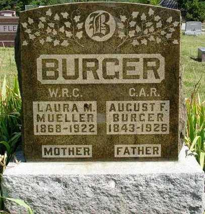 BURGER, LAURA MAY - Madison County, Iowa | LAURA MAY BURGER