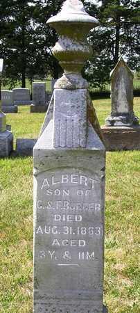 BURGER, ALBERT - Madison County, Iowa   ALBERT BURGER