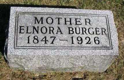BURGER, ELNORA - Madison County, Iowa   ELNORA BURGER
